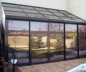 Солнцезащитные стеклопакеты для загородных домов